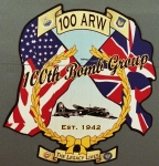 Patch: 100th Air Refueling Wing, RAF Mildenhall, U. S. Air Forces Europe (USAFE)