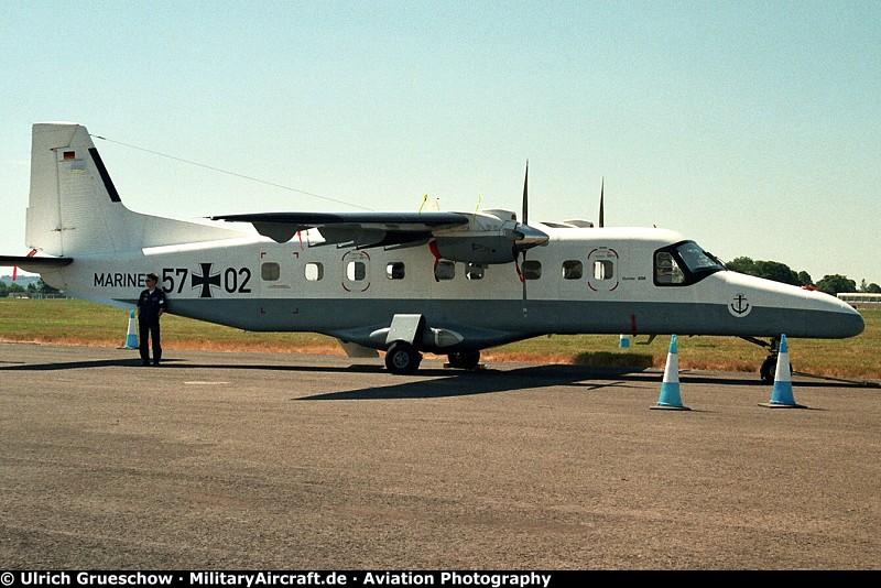 Dornier Do 228-212LM (57+02), c/n: 8211, 2nd Naval Aviation Wing ...